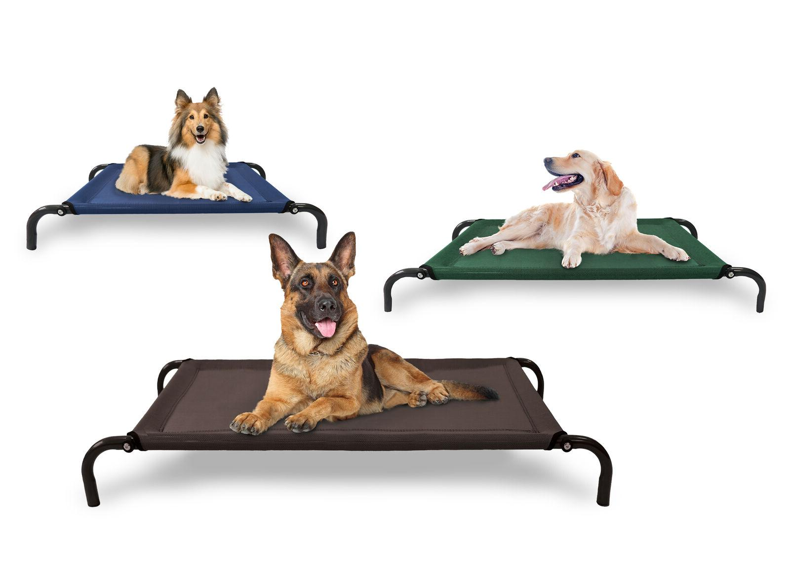 FurHaven Pet Elevated Cot Dog