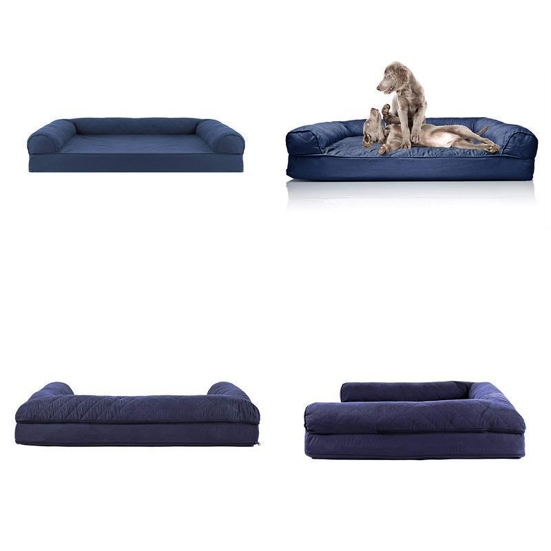extra large dog bed ultra plush