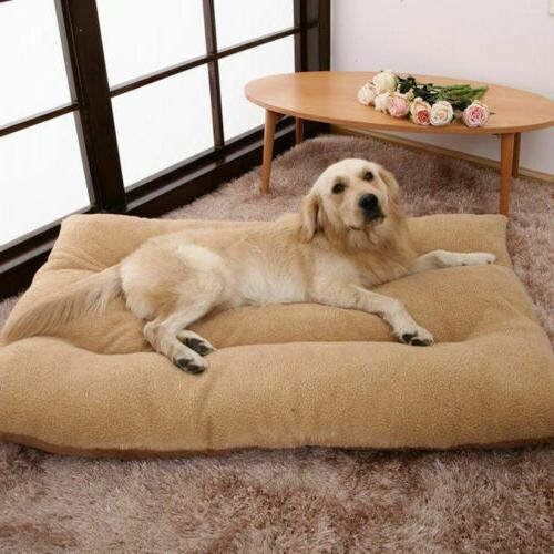 Extra Large Dog Bed Ultra Soft Foam Orthopedic Durable Jumbo