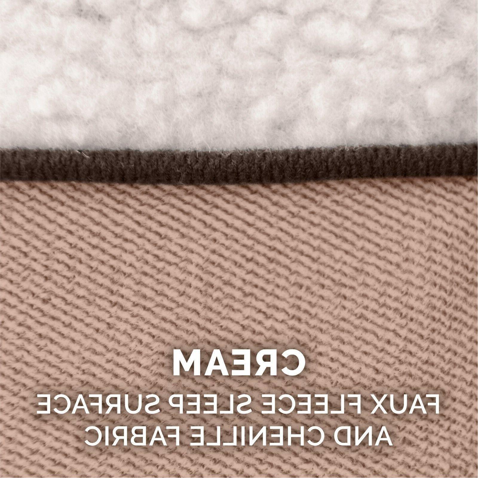 FurHaven Pet Faux Fleece & Sofa Bed