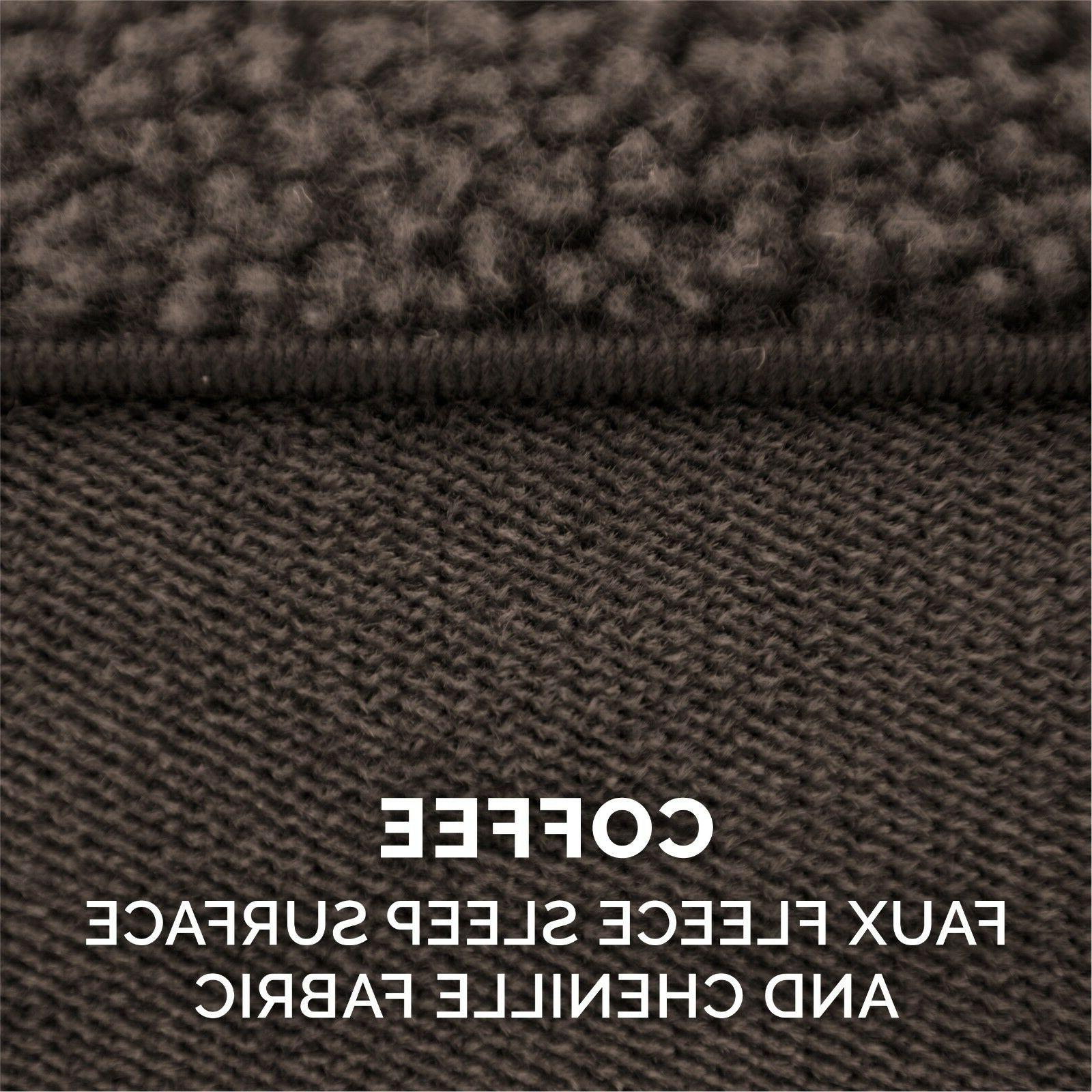 FurHaven Pet Faux Fleece & Soft Sofa