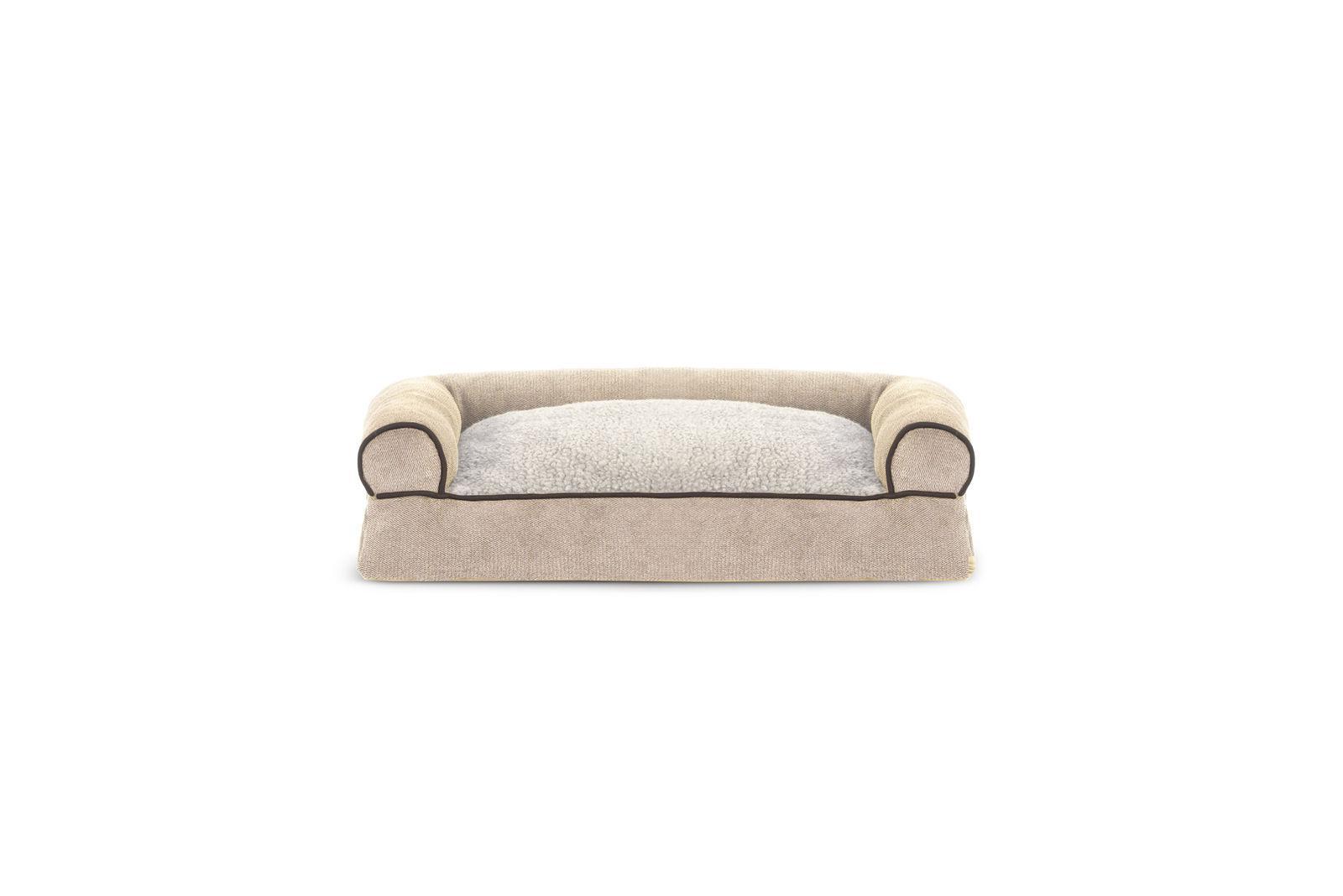 FurHaven Faux & Chenille Soft Pillow