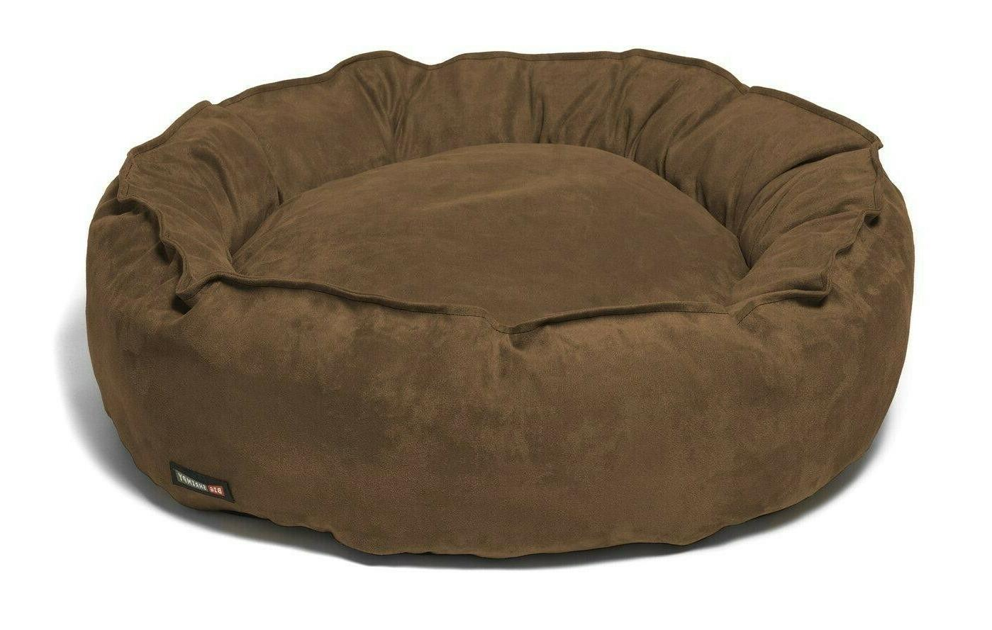 faux suede nest bed the last small