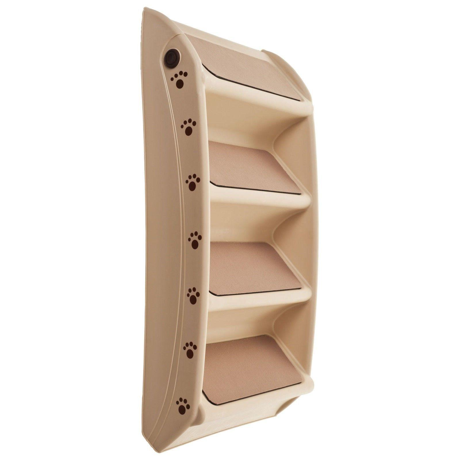 Foldable Pet Stairs Cat Pounds Inch High 15 Wide