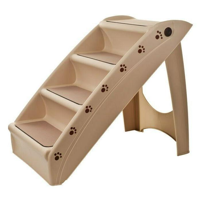foldable pet stairs dog cat