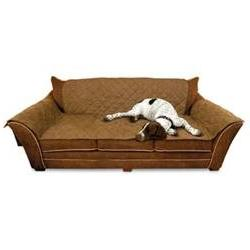 Furniture Covers - Color: Mocha, Type: Couch