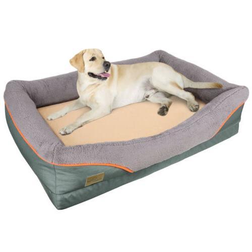 Heavy Duty Pet Bed Soft Foam Waterproof Bed