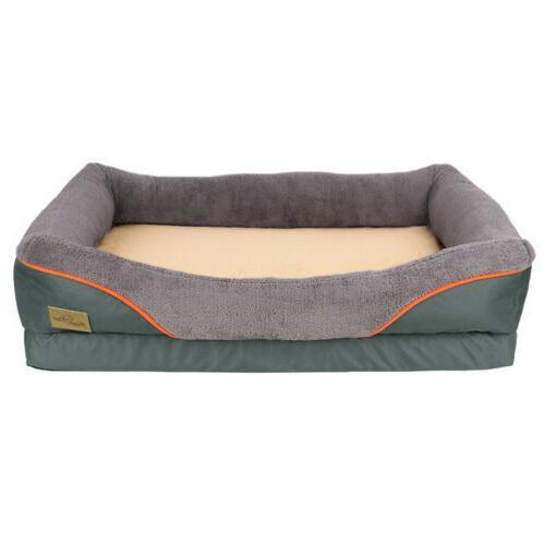Heavy Duty Pet Soft Foam Dog Bed
