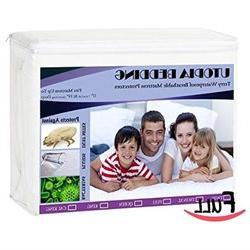 Full Hypoallergenic Waterproof Mattress Protector - Utopia B