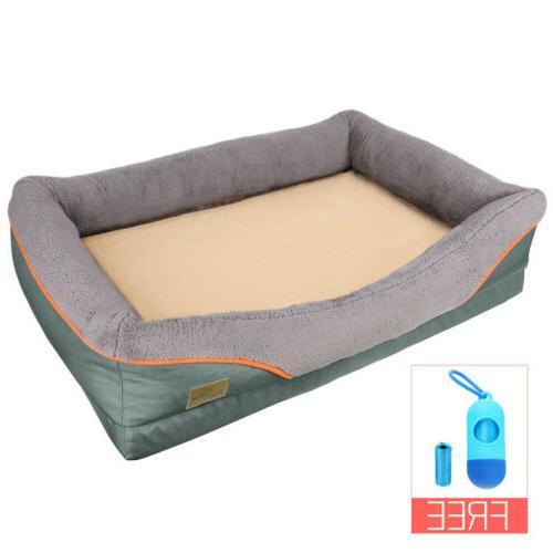 Heavy Duty Pet Bed Soft Cushion Foam Waterproof Bed XL