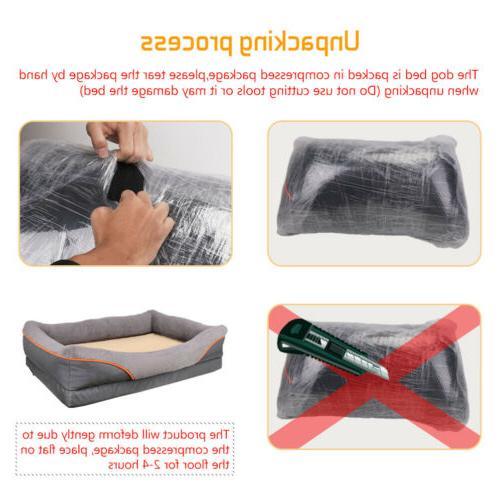 Heavy Orthopedic Pet Foam Bed XL