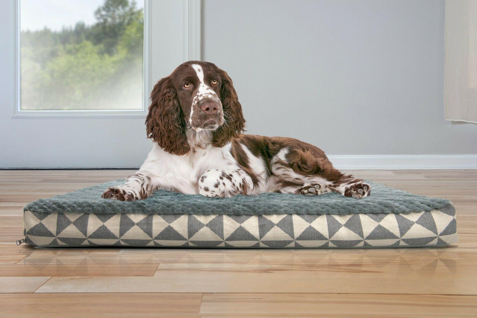FurHaven Pet Kilim Deluxe Memory Foam Dog Bed