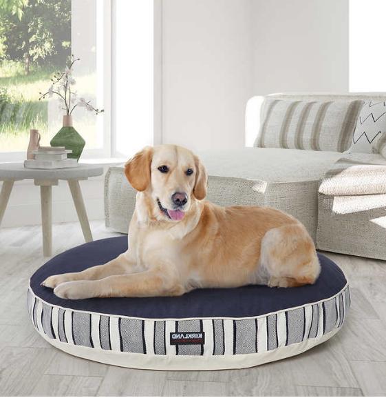 kirkland signature 42 inch round dog bed
