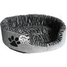 """18""""x13""""x4"""" Kitty Cat Puppy Dog Pet Grey Bed 44cm Super Comfo"""