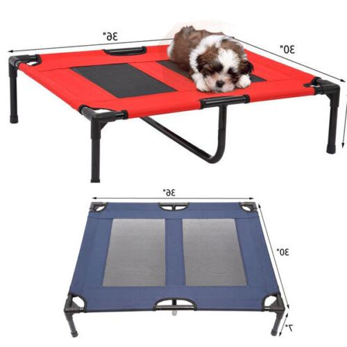 large dog cat bed elevated raised pet