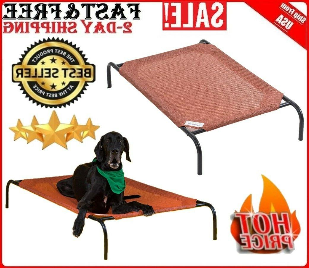Large Elevated Dog Bed For Large Dogs Indoor Outdoor Big Rai