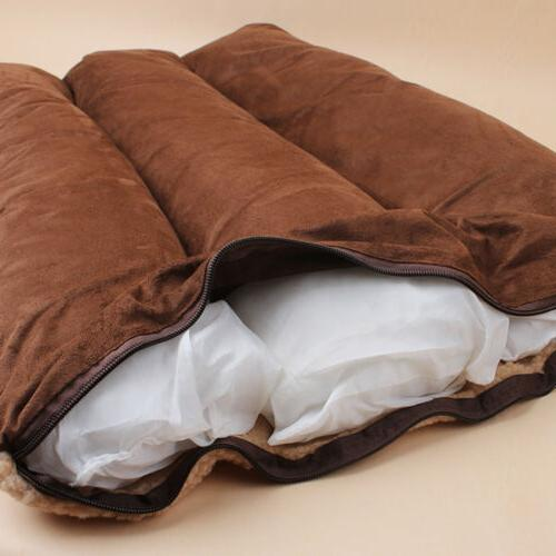 Large Pet Dog Pillow Washable Soft Winter Blanket