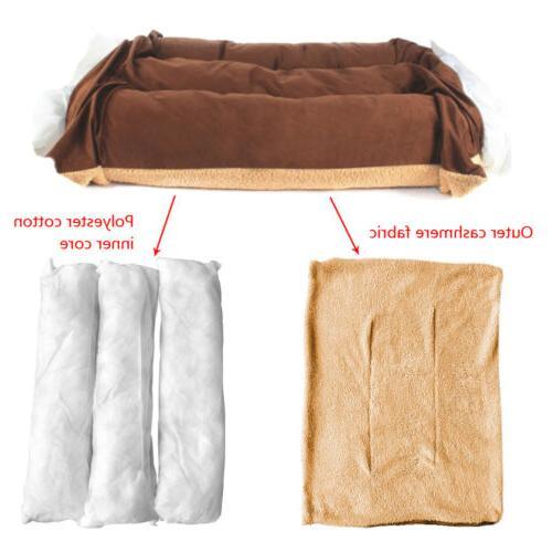 Large Bed Mattress Dog Cushion Washable Blanket