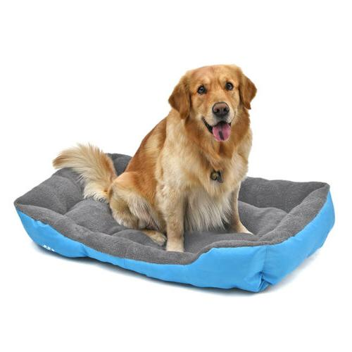 Large Pet Bed Puppy Cushion Soft Mat Blanket