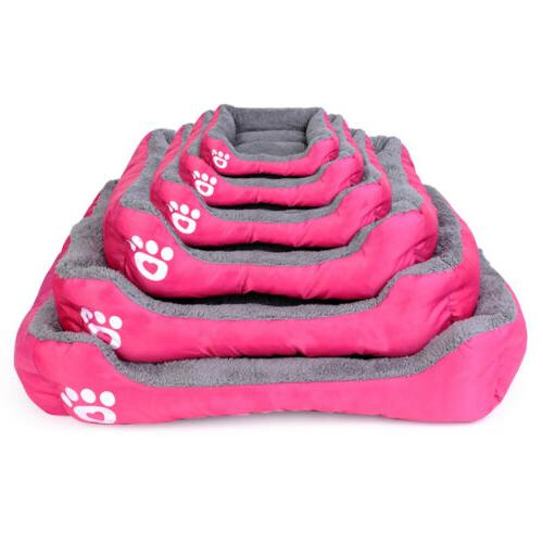 Large Cat Bed Puppy Cushion House Soft Kennel Mat Blanket