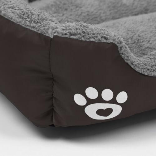 Large Dog Bed Puppy Cushion Soft Blanket