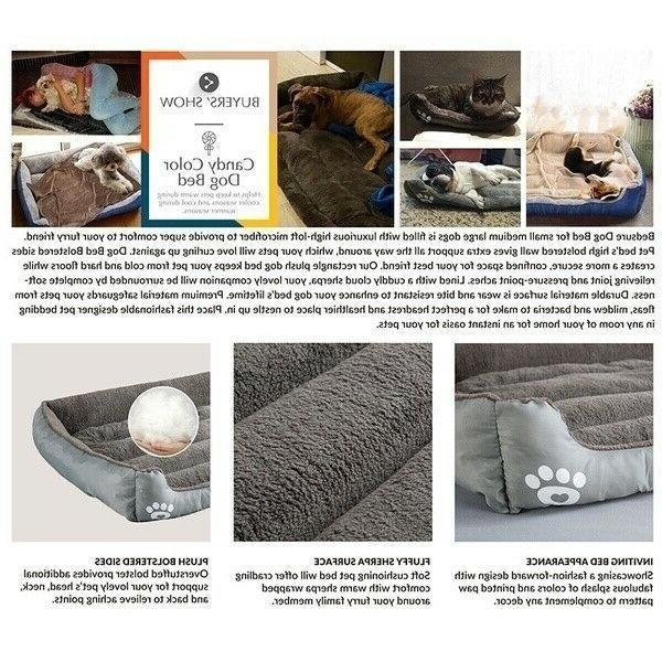 Large Pet Sleeping Soft Warm Mat
