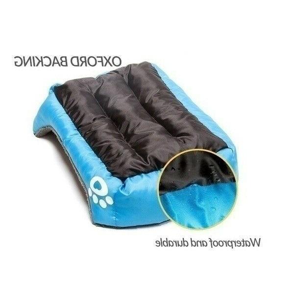 Large Pet Sleeping Cushion Fleece Soft House Mat