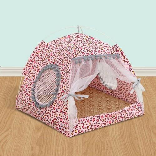 Large Pet Cat House Fleece Blanket
