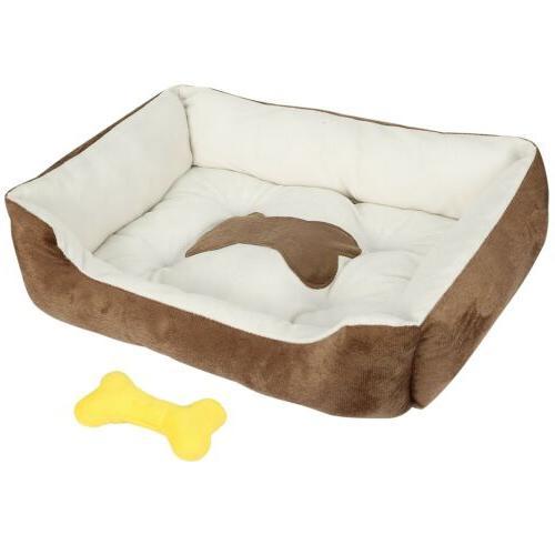 Large Warm Pet Bed Cozy Cushion Mats Machine Washable