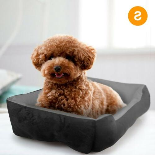 Large Pet Bed Dog Cozy Washable