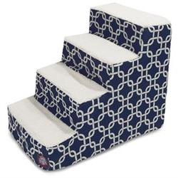 Links 4 Step Pet Stair, Navy Blue