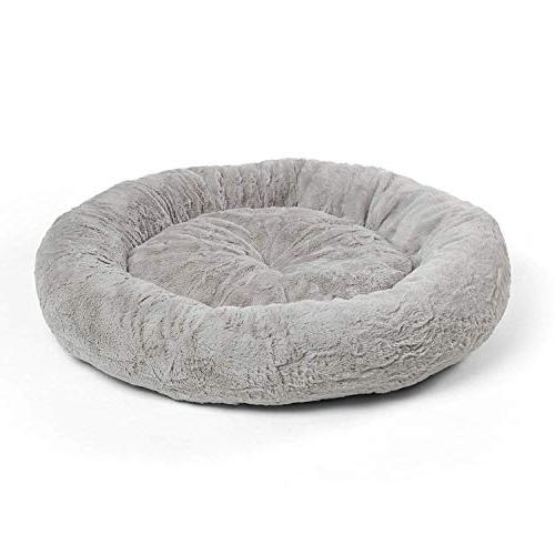 Best Friends by Luxury Fur Donut Cuddler - Small and Orthopedic