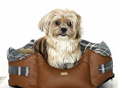 Luxury Dog Cat Bed Sofa Washable Dog
