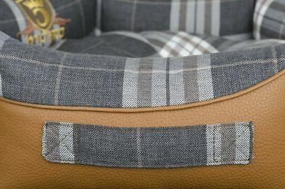 Luxury Cat Bed Sofa Washable Cover Dog EU