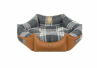 luxury hexagonal pet dog cat bed sofa