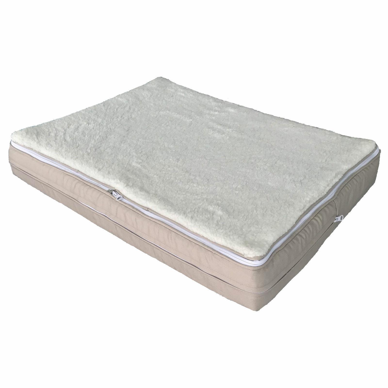 Orthopedic Memory Foam Large Small Soft Washable