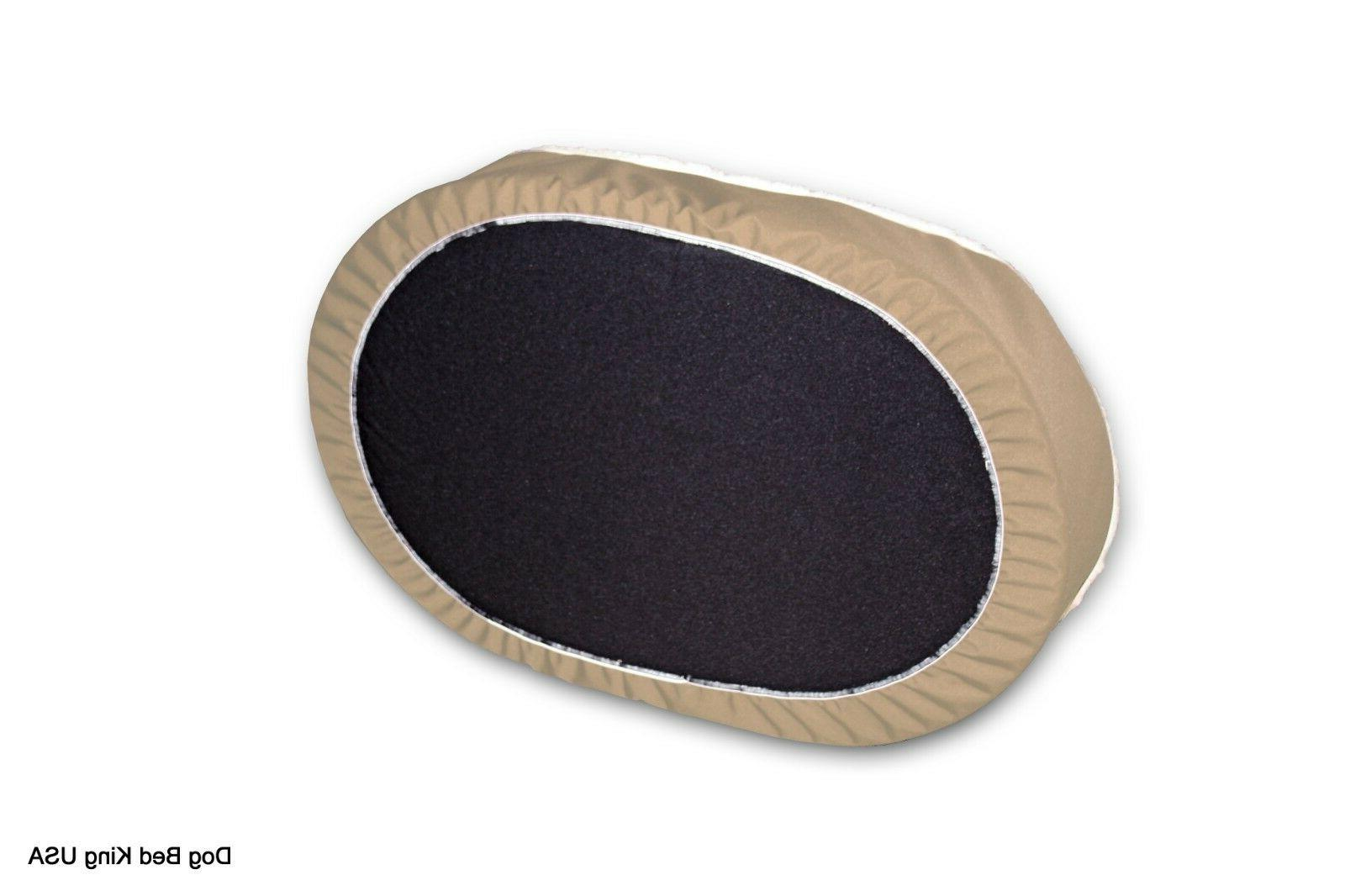 Dog Bed Ortho Pet Bed. Tan/Imitation TAN