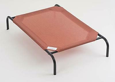 Coolaroo The Original Elevated Pet Bed, Medium, Terracotta