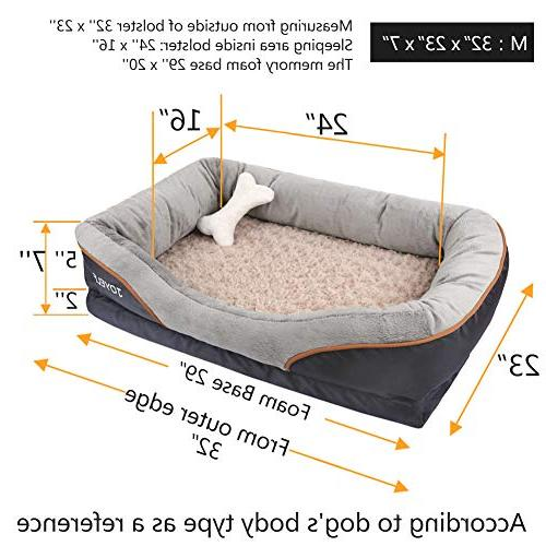Bed Medium Bed & Removable Squeaker Gift
