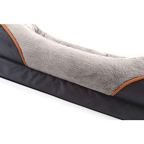 JOYELF Foam Dog Bed Sofa Removable Washable Squeaker