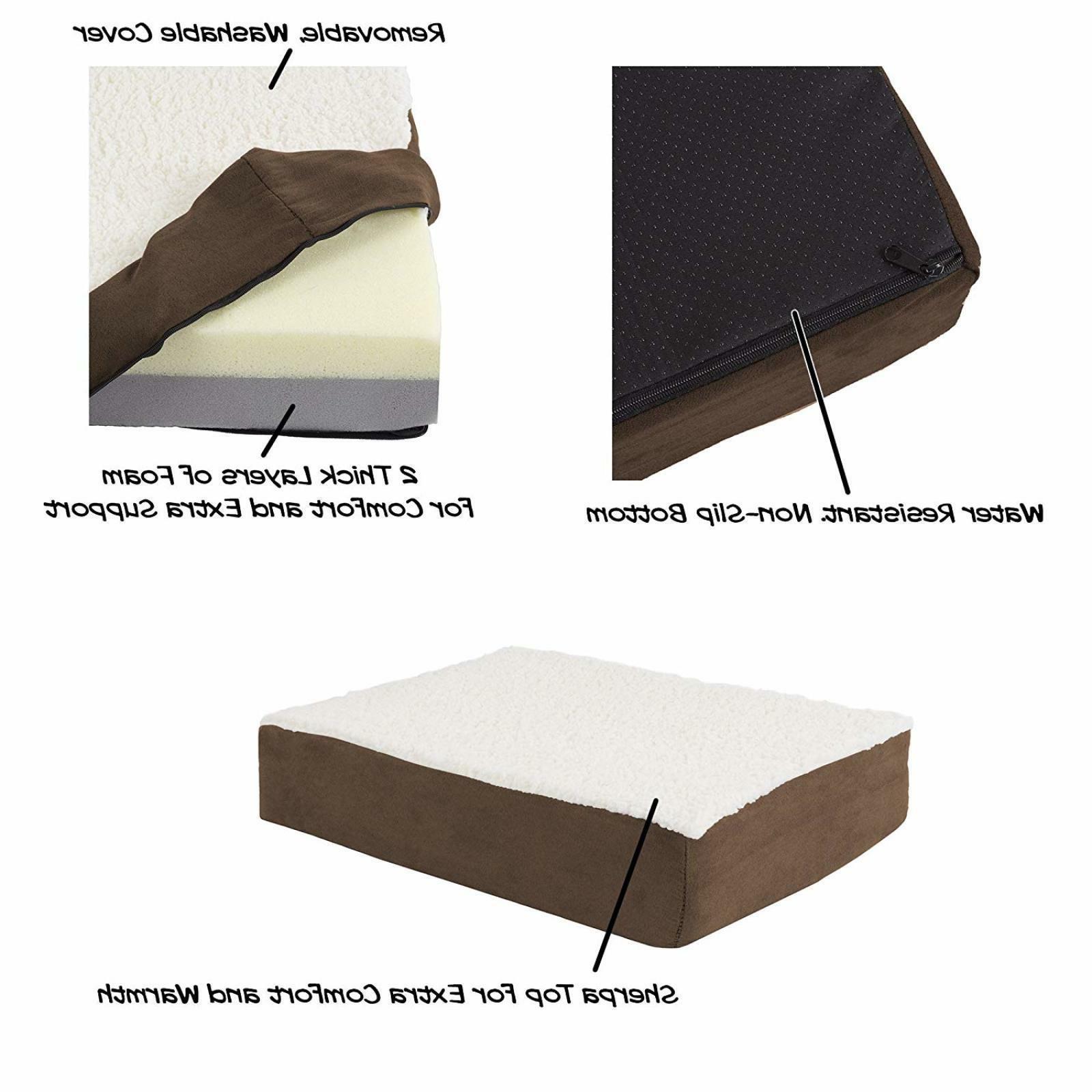 Orthopedic Memory Foam Top Comfort Small