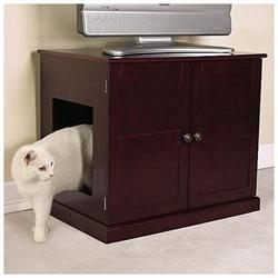 Meow Town Concord Litter Box Cabinet