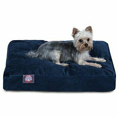 Majestic Pet Navy Villa Collection Extra Large Rectangle Pet