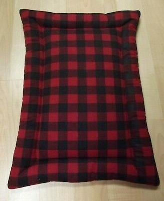 new crate mat dog bed flannel corduroy