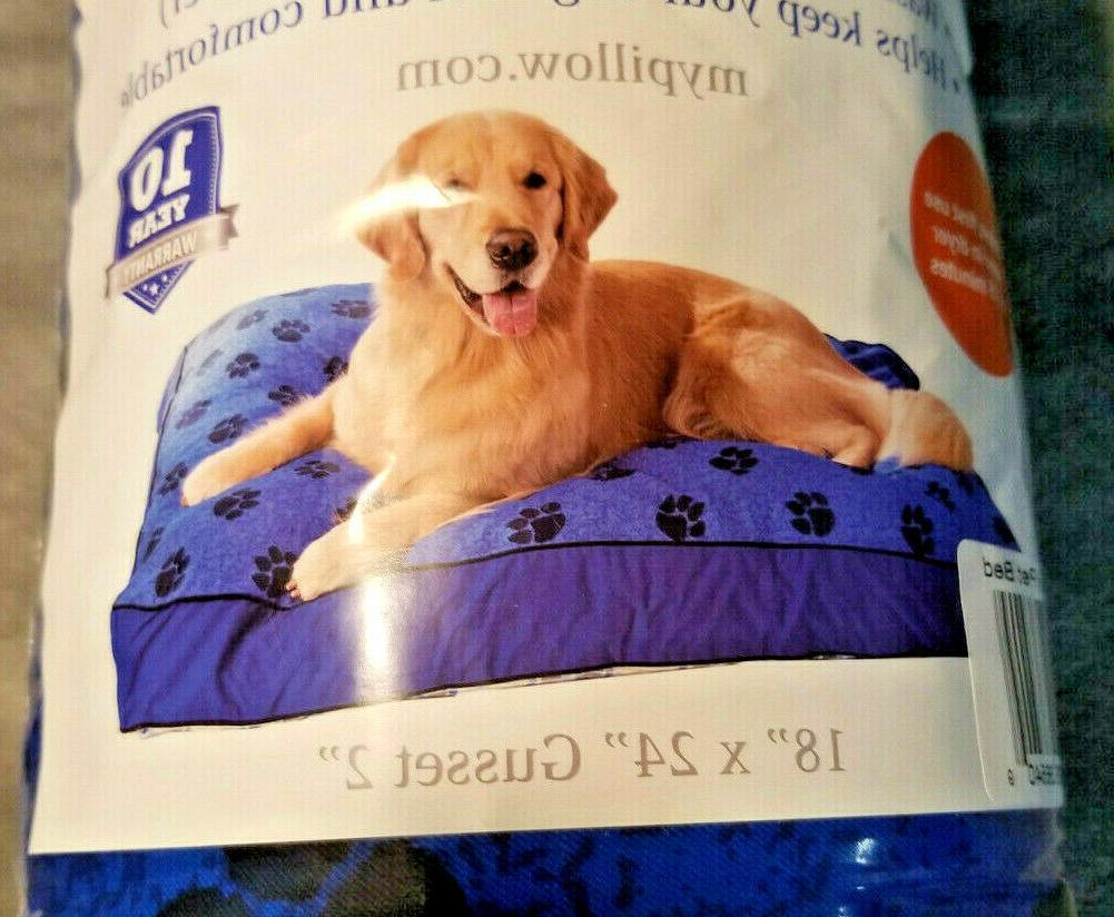 "NEW DOG Machine Washable My SMALL with Paw 18""x24"""