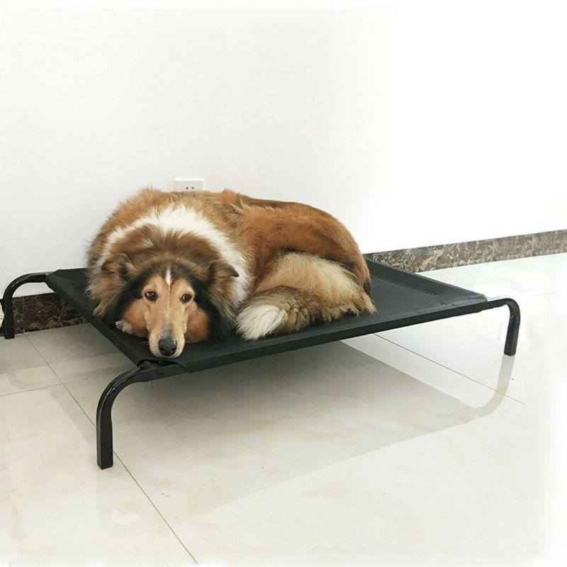 New Dog Cat Bed Cot Indoor Steel