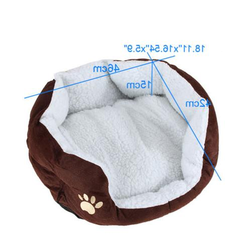 New Pet Dog House Cozy Pad Nest
