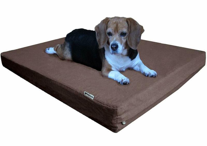 orthopedic cooling memory foam dog bed
