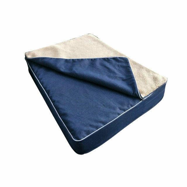 orthopedic dog bed luxury memory foam gel