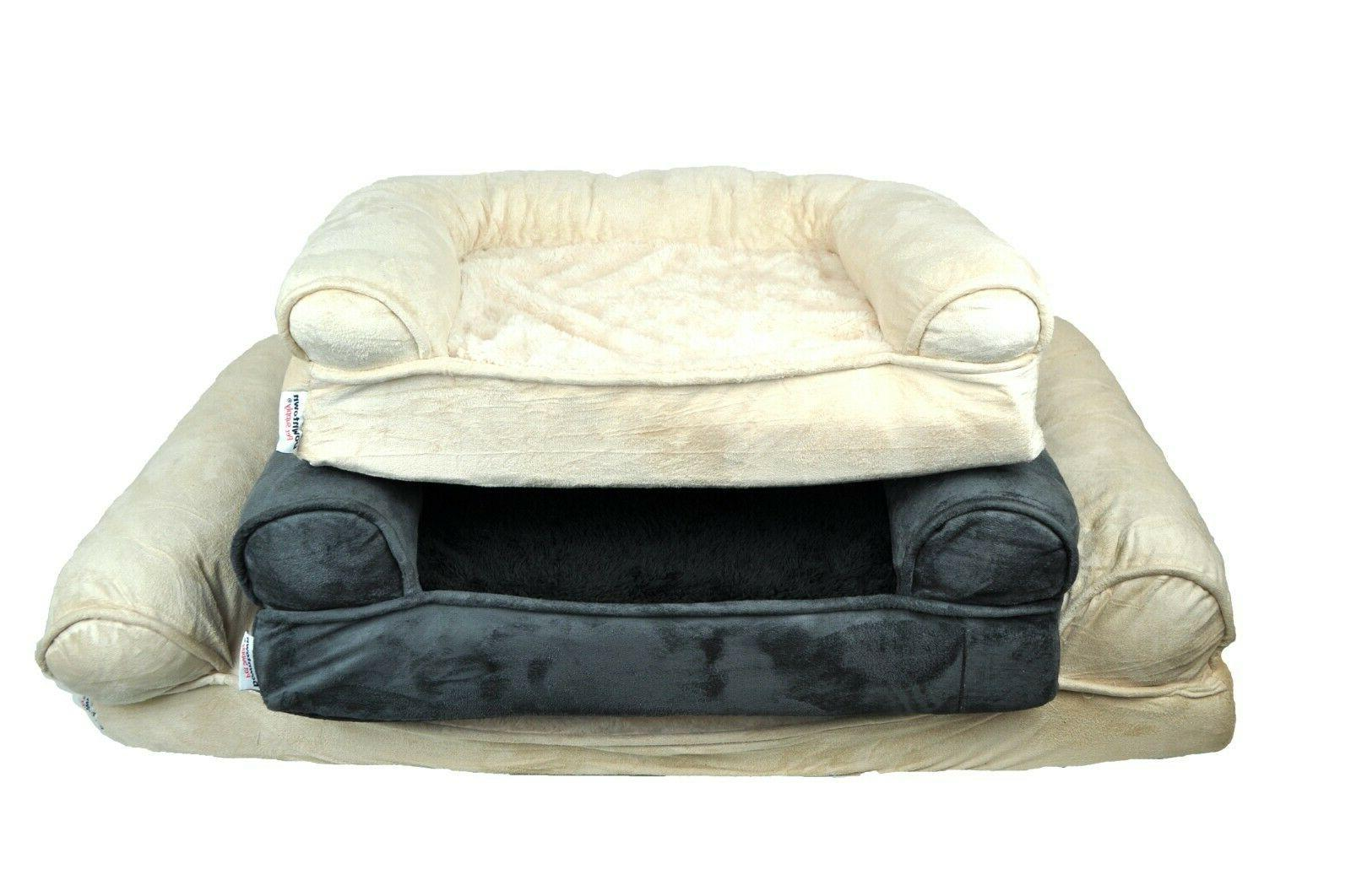 orthopedic dog sofa bed comfortable pet sofa